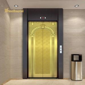 High Quality PVD Golden Etching Design Sheet 1219x22438mm 0.75mm 304 Stainless Steel Sheet
