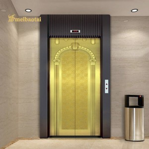 Elevator cabin decoration plate pvd gold color coating luxury decoration plate 0.95mm thickness grade 304 stainless steel plate