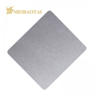 Color Hairline Finish 304 Stainless Steel Sheet