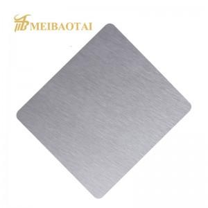 Hairline Stainless Steel Bronze Sheet Brushed Brass Copper Sheet