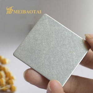 vibration  pvd  color coating stainless steel sheet decorate plate