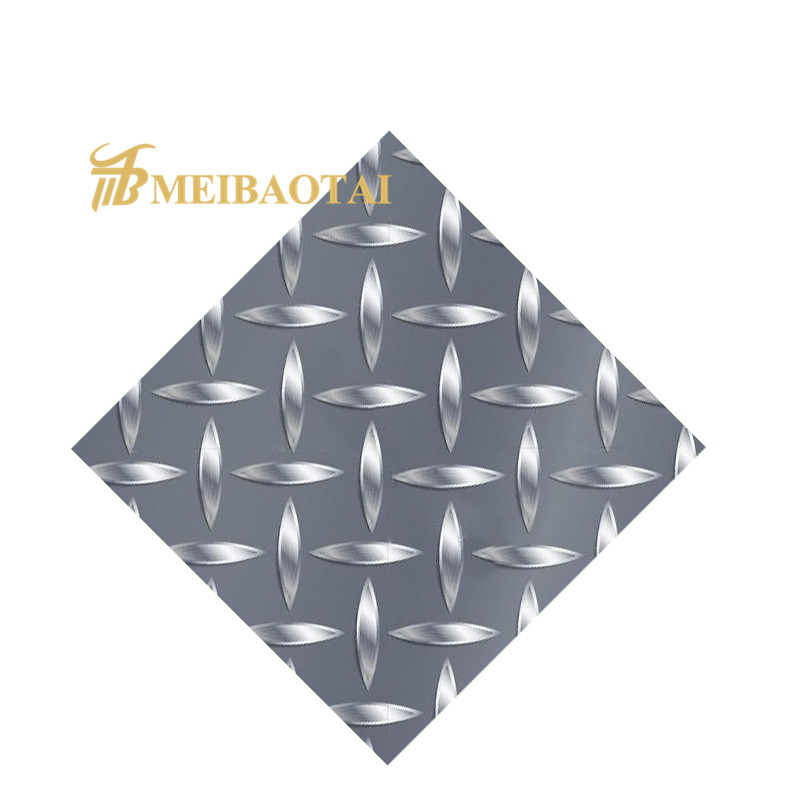 Chequered Plate 304 Stainless Steel Sheet for Construction Materials Featured Image