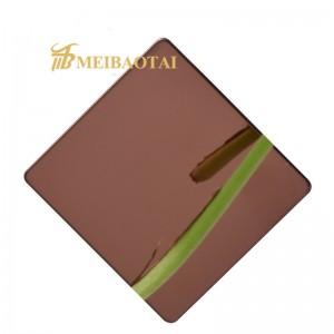 High Quality Grade 304 4*8 Feet Mirror Stainless Steel Sheet