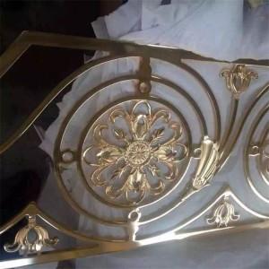 balustrade regulations stainless steel modern handrail and balustre / railing for balcony metal handrail post