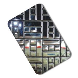 kitchen Stainless Steel Mosaic decorative stainless steel sheet