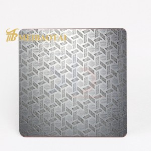 Cold Rolled Embossed Finish 201 Stainless Steel Sheet