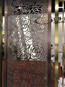 The Metal Wall Decorative for Room Dividers
