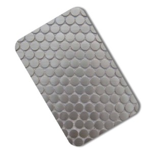 201 304 stainless steel mosaic for showcast decorative stainless steel sheet