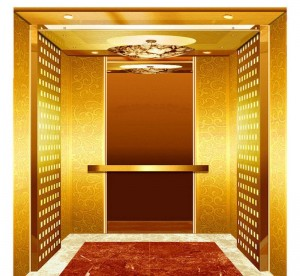 custom elevator stainless steel  etched/mirror color /emboss  decorative plate