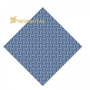 Best qulity chequered stainless steel sheet