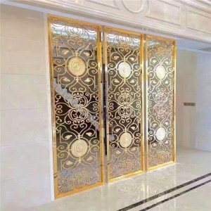 custom screen stainless steel  decorative hotel/home/office