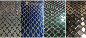 Foshan Meibaotai 201 304 Stamp Stainless Steel Coil Manufacturer Price Decorative Wall Covering Sheets