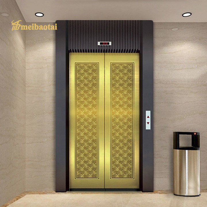 High Quality Export to Turkey PVD Gold Etching Elevator Plate 304 Stainless Steel Plate Featured Image