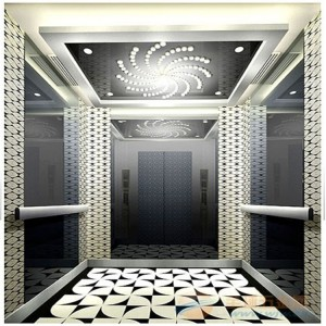 custom  mirror color/embossing/etching stainless steel  decorative elevator  factory price