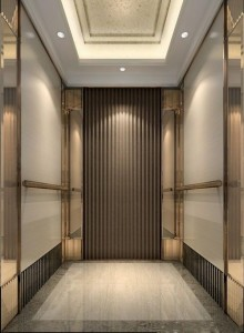Grade 304 Elevator Stainless Steel Sheet in 8K Mirror Etched