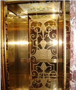 Grade 304 Color Mirror 8K Etched Stainless Steel Sheet for Elevator Decoration