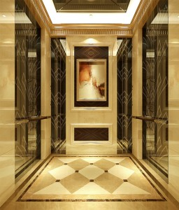 Stainless Steel Color Etched Embossed Wall Panel Elevator Lift Sheet