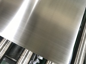 Hot Sales Hairline Silver Finish Design Grade 201/304 Stainless Steel Decoration Sheet Four Feet 0.65mm Thickness