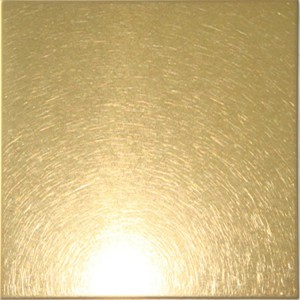 gold vibration stainless steel decorative sheet