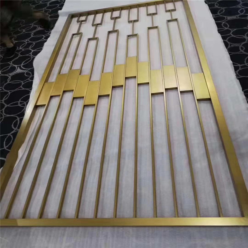 Color Decorative Building Material Stainless Steel Metal Laser Cut Sheet for Wall Panel and Room Divider Partition Featured Image