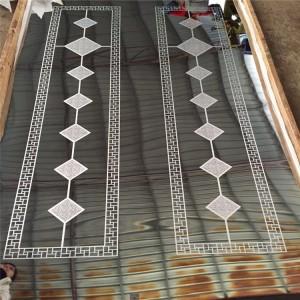 customized stainless steel  elevator door decorative steel sheet