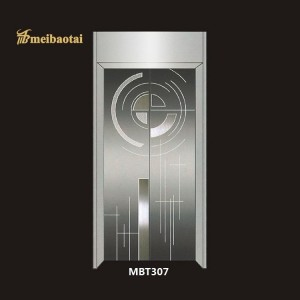 Elegant Etching Design Finish 304 Stainless Steel Sheet Four Feet Elevator Decoration Plate Material