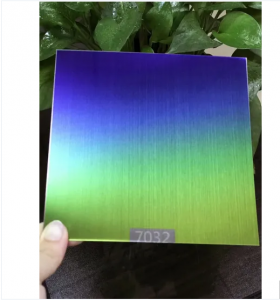 Custom PVD color coating sheet hairline  stainless steel plate decorative sheet