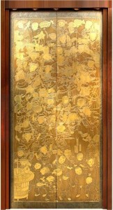 etched/mirror color /emboss  stainless steel sheet decoration elevator