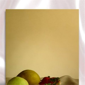 mirror copper gold color sheet wall panel