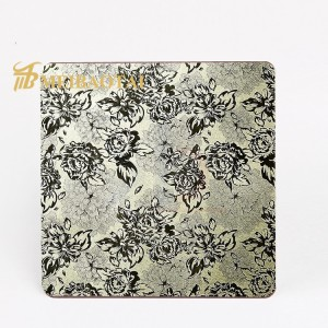 high quality custom SUS 304 embossed finish stainless steel sheet