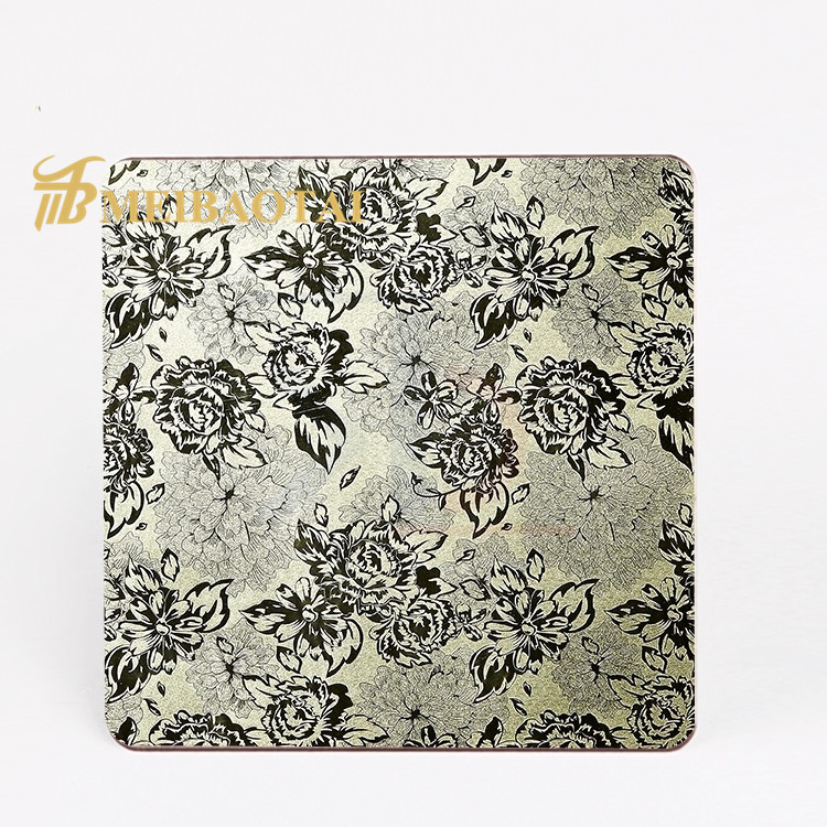 high quality custom SUS 304 embossed finish stainless steel sheet Featured Image