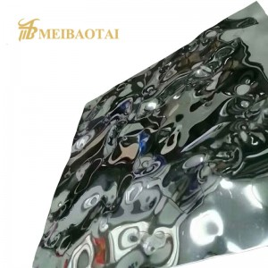 Grade 201 Stamped Stainless Steel Sheet for Interior and Exterior Decoration