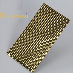 201 304 Stamped Stainless Steel Sheet for Interior Decoration