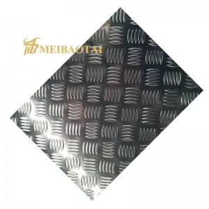 Custom Hot Rolled 304 Carbon Steel Checker Plate/Sheet ,Mild Steel Chequer Plate/Sheet