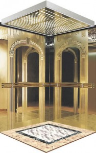 elevator stainless steel mirror color /etched stainless steel sheet