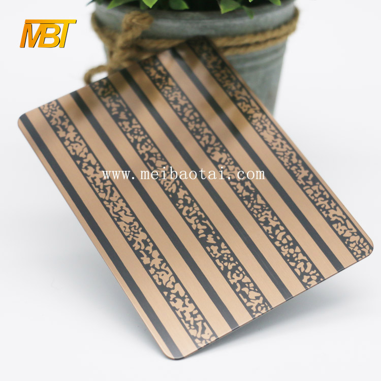 Bronze Color 201 3d wall plate decorative sheets Featured Image