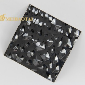 stamp black mirror  chemical  coating  stainless steel sheet