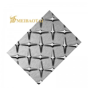 Chequered Plate 304 Stainless Steel Sheet for Construction Materials