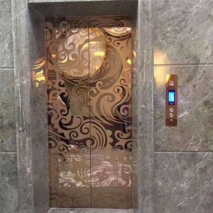 building material sus 304 elevator stainless steel decorative plate