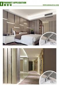U Tile Trim Decorative Trim for Counter Decoration