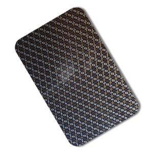 laser decorative coated steel sheet