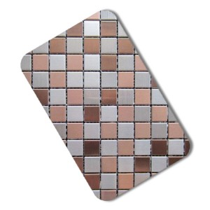 201 tile mosaic decorative stainless steel sheet