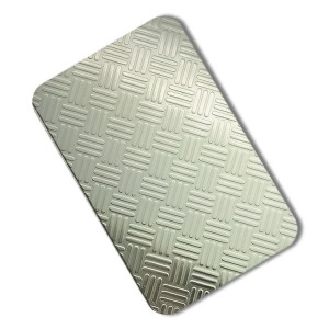 fabrication embossed steel sheet