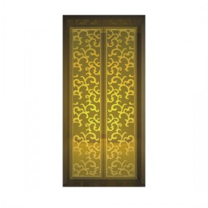Hairline/Mirror/Etched/Embossed Finish Stainless Steel Sheet Decorate Elevator Plate