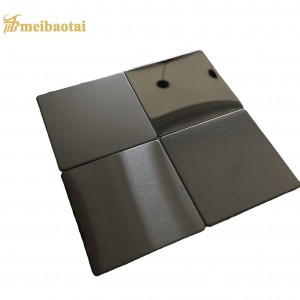 HIGH QUALITY PVD COLOR COATING POLISH MIRROR DESIGN 201 STAINLESS STEEL SHEET FOR DECORATION WALL CEILING