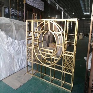 316 Stainless Steel Decorative Partition color stainless steel plate
