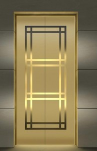 Elevator Stainless Steel Decorative Sheet for Home Small Elevators/Hotel Elevators