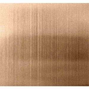 Grade 201 304 Colored Hairline Finish Stainless Steel Sheet