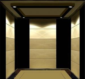 Grade 304 Mirror Etching Stainless Steel Passenger Elevator for Hotel