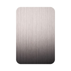 PVD Rose Golden Black Hairline Brush NO4 Plate 1219x2438mm 0.65mm Grade 201 Stainless Steel Plate Decorative Luxury Wall Plate for Hotel Elevator Lift Plate
